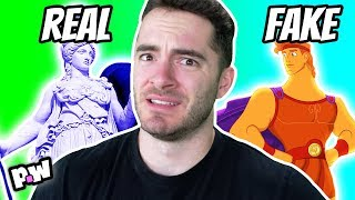 REAL VS FAKE Greek Mythology Gods w. CaptainSparklez ~ pocket.watch