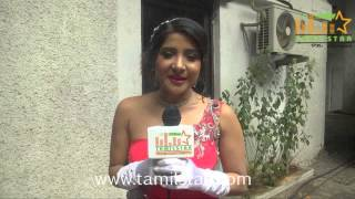 Sakshi Agarwal at Ka Ka Ka Po Movie Shooting Spot