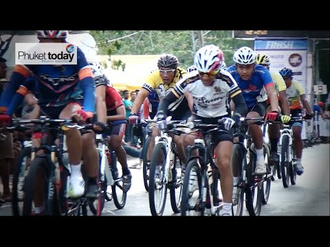 Saphan Hin was packed with Phuket's top cyclists, and competitors from much further afield, who gathered to take part in the first Southern Criterium. Video: PGTV