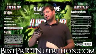 http://www.bestpricenutrition.com/blackstone-labs-juiced-up-30-servings.html - Glenn reviews Juiced Up from Blackstone Labs, the new fruits and greens supplement!