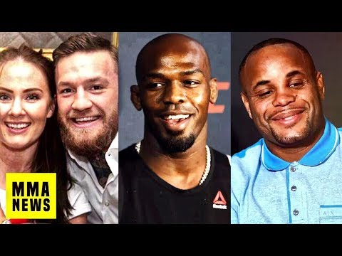 Conor McGregor And Dee Devlin Expecting 2nd Child, Jon Jones On Fighting In A Different Promotion