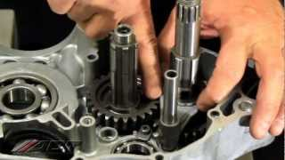 10. Modifications for installing DRZ Wide Ratio Gears