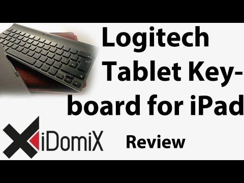 Logitech Tablet Keyboard for iPad Review Deutsch German