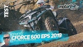 1. CF MOTO CFORCE 600 EPS 2019 | TEST MOTORLIVE