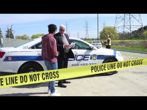 Freeze frame from video: SIU Video: The Evidence