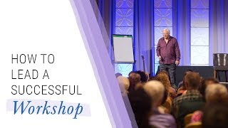 How to Lead a Successful Workshop | Jack Canfield