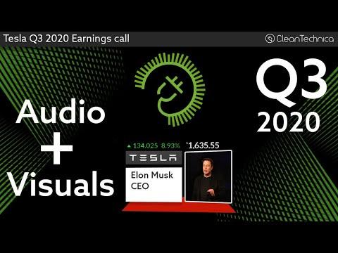 Tesla Q3 2020 Earnings Call