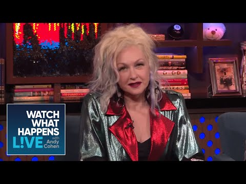 Did Cyndi Lauper Hate 'We Are The World'? | WWHL