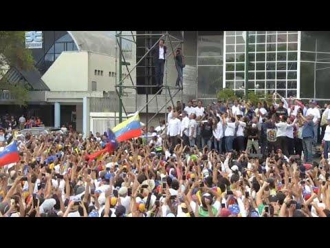 Venezuela: Übergangspräsident Guaidó gibt sich kämpfe ...