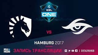 Liquid vs Secret, ESL One Hamburg, game 1 [v1lat, LightOfHeaven]