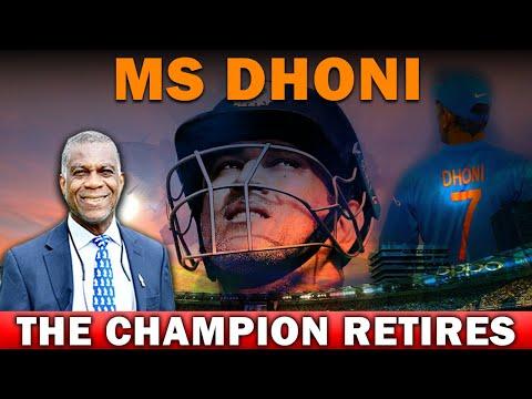 MS DHONI The Champion Retires   Michael Holding