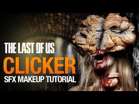 Clicker Halloween makeup tutorial
