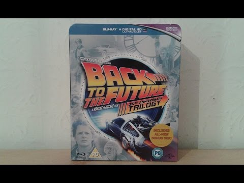 Back to the Future Trilogy 30th Anniversary Blu-Ray Boxset Review