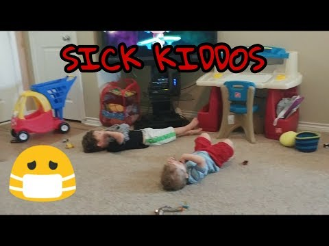 Sick day in the life of a mom and 3 kids! :) (DV #15)