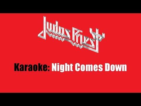 Karaoke: Judas Priest  Night Comes Down