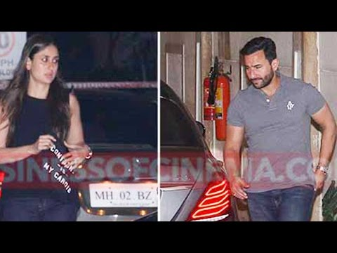 Snapped: Kareena Kapoor Khan and Saif Ali Khan's F