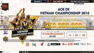 VNC 2018 | 3vs3 | Vòng Bảng | Ngày: 12-08-2019. BLV: Hải MariO + Kami