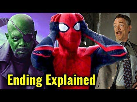 Spiderman Far From Home Ending Explain In HINDI | Spiderman Far From Home Post Credits Explain HINDI