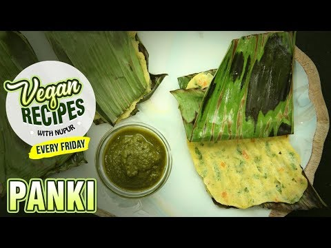 Vegetable Panki Recipe – How To Make Panki – Snack Recipe – Vegan Series By Nupur – Rajshri Food