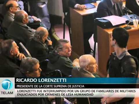 """Lorenzetti: """"No se va a retroceder en los juicios de lesa humanidad"""""""