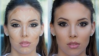 How to: Contour and Highlight (Drugstore+High End) - YouTube