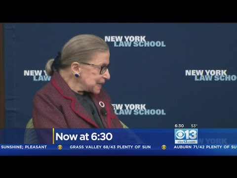 Justice Ruth Bader Ginsburg Fractures 3 Ribs After Falling