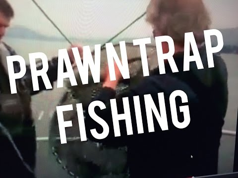 Prawn Trap Fishing in Pacific NW