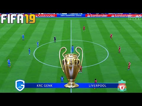 FIFA 19 | Genk vs Liverpool - UEFA Champions League - Full Match & Gameplay