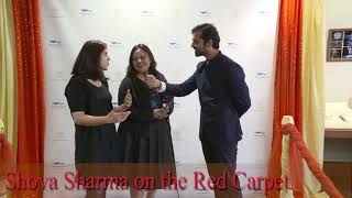 Shova Sharma on the Red Carpet