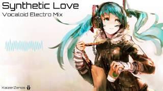 "Download Lagu Vocaloid Electro Mix ""Synthetic Love"" [Hatsune Miku   Aoki Lapis] Mp3"