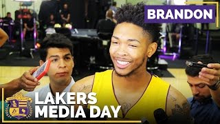 Lakers Media Day: Brandon Ingram & His Rookie Of The Year Goal by Lakers Nation