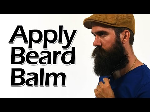 How to Apply Beard Balm like a Boss