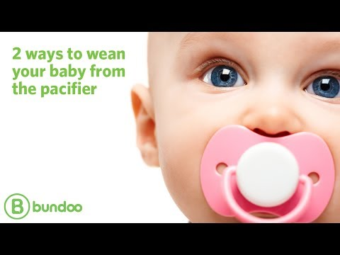 2 ways to wean your baby from the pacifier