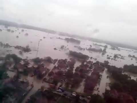 Serbia floods - Obrenovac poplava