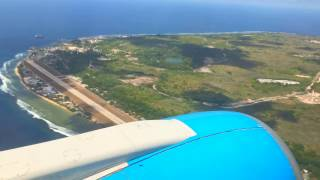 Landing on the earth's least visited country! The landing took place on Wednesday, November 23rd, 2016, on Nauru Airlines.