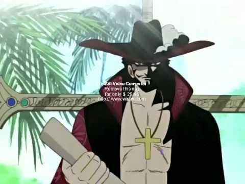海賊世界的王者,鷹眼和紅髮的第一次見面!