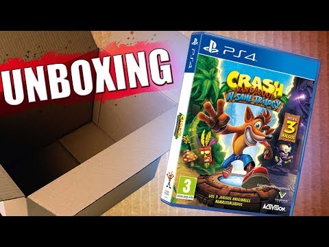UNBOXING CRASH BANDICOOT N. SANE TRILOGY(PS4)!!!!|Español|Edicion Normal