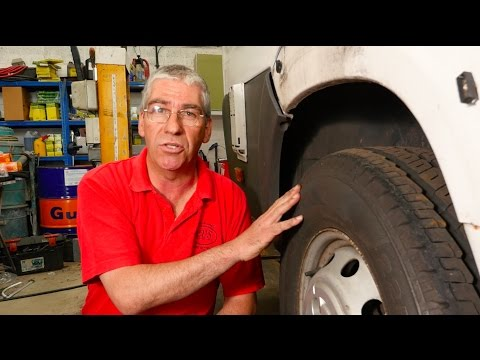 Expert advice on motorhome tyres