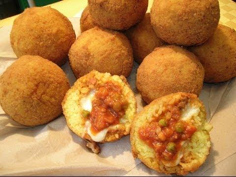 video ricetta: gli irresistibili arancini siciliani!