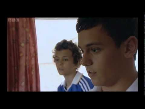 britian - All rights to the bbc EDUCATIONAL PURPOSES ONLY Documentary following Tom Daley, Britain's Olympic poster boy, as he prepares to compete in the London 2012 O...