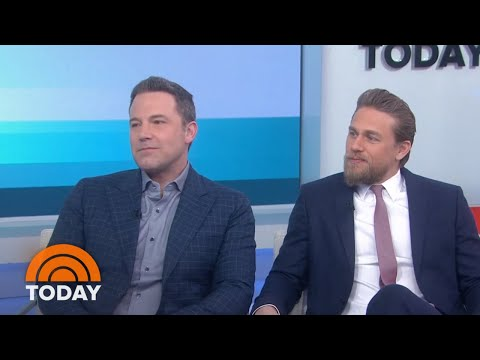 Ben Affleck, Charlie Hunnam Talk Netflix Film 'Triple Frontier' | TODAY