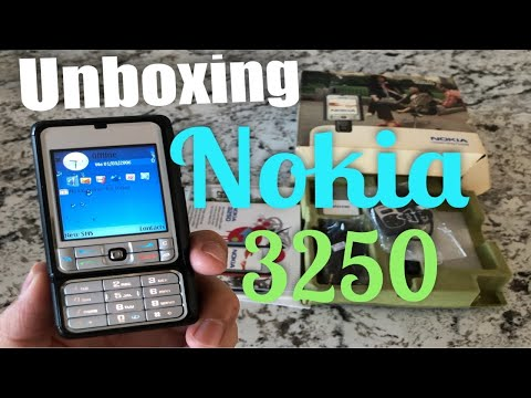 Nokia 3250 Xpress Music Like New Condition Unboxing with all original accessories  review