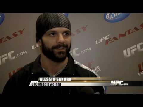 James Irvin vs Alessio Sakara Pre Fight Interviews
