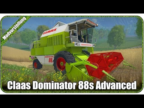 Claas Dominator 88s Advanced v1.1.1