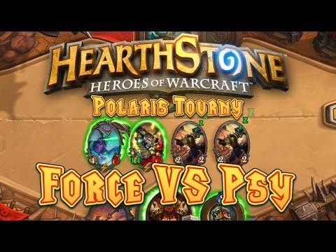 Force vs Psy (Polaris Hearthstone Tournament – Round 2)