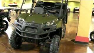 6. 2012 Polaris Ranger 900 Diesel - 900D UTV
