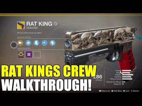RAT KINGS CREW QUEST Walkthrough   Destiny 2