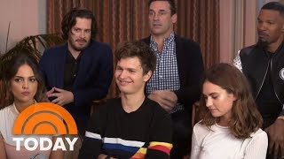Video Jamie Foxx, Jon Hamm: Behind The Scenes Of 'Baby Driver' With The Film's Stars | TODAY MP3, 3GP, MP4, WEBM, AVI, FLV April 2018