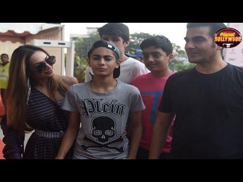 Malaika Arora & Arbaaz Khan Attend Justin Bieber's