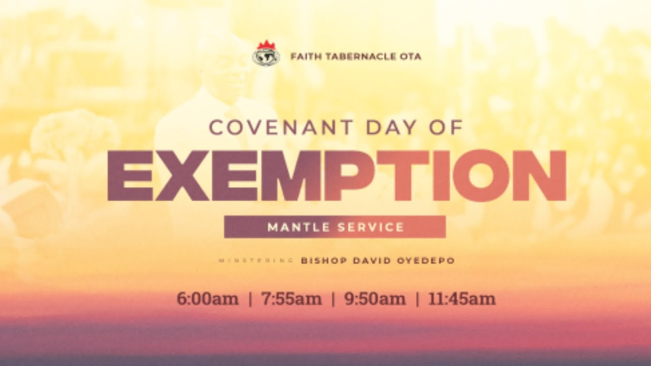Winners Chapel Sunday Service 25 July 2021 Live with Bishop David Oyedepo